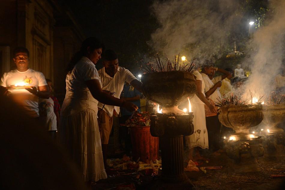 SRILANKA-RELIGION-NEW YEAR